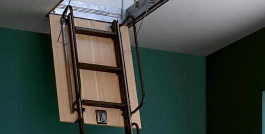 Escalier escamotable rintal 4p for Escalier escamotable mezzanine