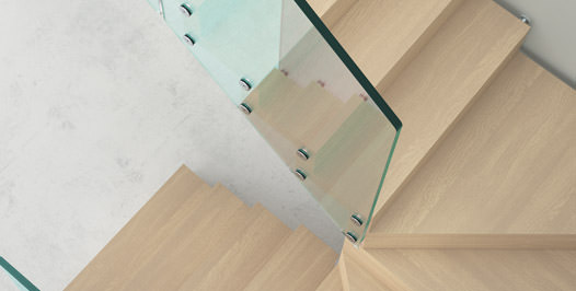 escalier suspendu rintal aira. Black Bedroom Furniture Sets. Home Design Ideas