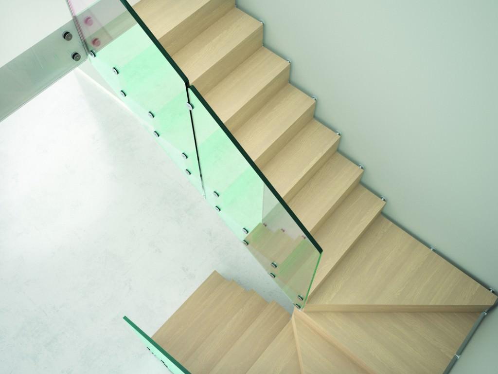 Escalier suspendu rintal aira for Escalier dans le vide
