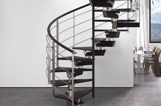 Escaliers hélicoïdaux - Rintal