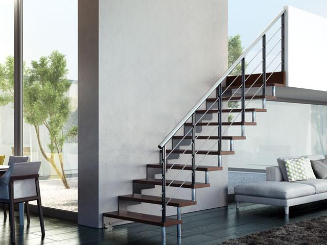 escalier en acier rintal daisy. Black Bedroom Furniture Sets. Home Design Ideas