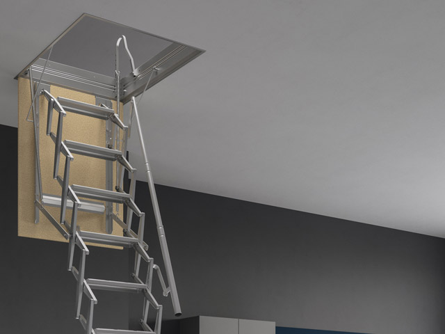 escalier escamotable escalier escamotable paroi rintal adj. Black Bedroom Furniture Sets. Home Design Ideas