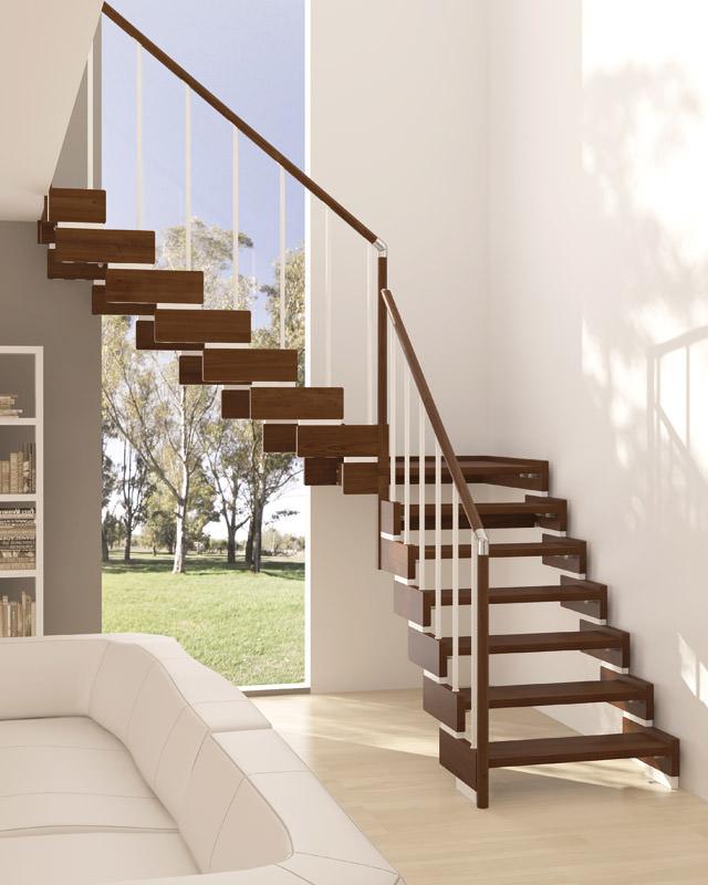 escalier int rieur en bois rintal trasforma design. Black Bedroom Furniture Sets. Home Design Ideas