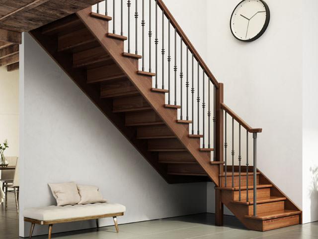 Escalier d int rieur en bois rintal gara for Scale interne rintal prezzi