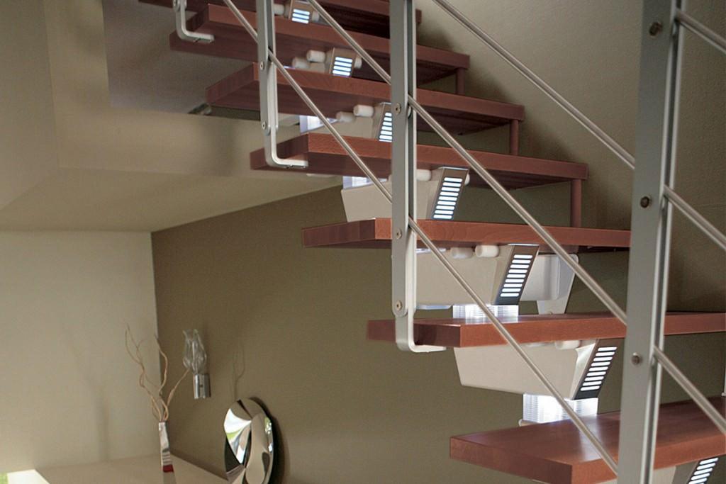 escalier modulaire escalier droit knock design rintal. Black Bedroom Furniture Sets. Home Design Ideas